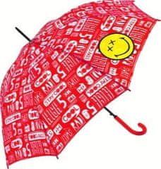 Apriori Dežnik Smiley - rdeč