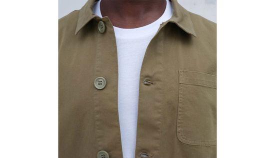 By Garment Makers Bunda The Organic Workwear Jacket farba zelená | veľkosť M