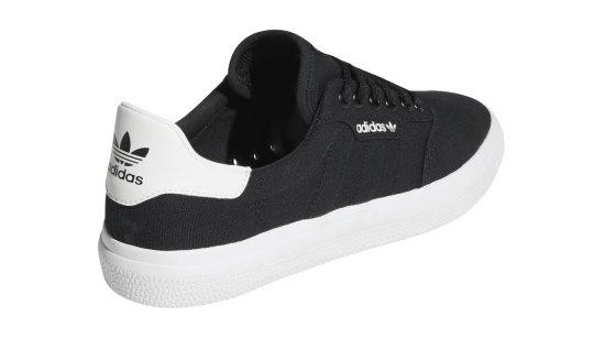 Adidas Tenisky 3MC core black farba čierna | veľkosť 3 UK | 35,5 EU | 22 CM | 3,5 US