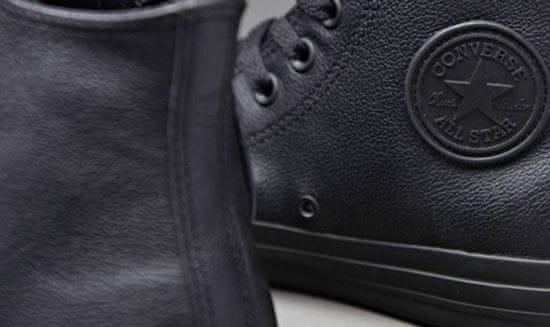 Converse Chuck Taylor All Star Mono Leather farba čierna | veľkosť 3 UK | 35 EU | 22 CM | 5 US