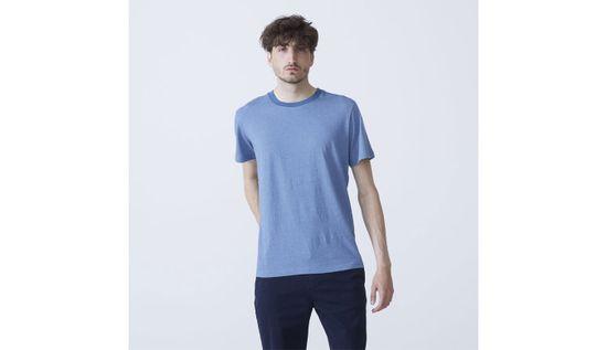 By Garment Makers Tričko T-Shirt Adam farba modrá | veľkosť S