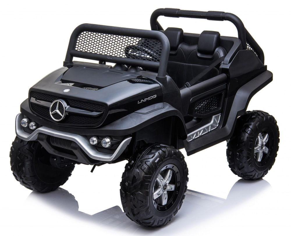 Eljet Dětské elektrické auto Mercedes Benz Unimog Truck - černá