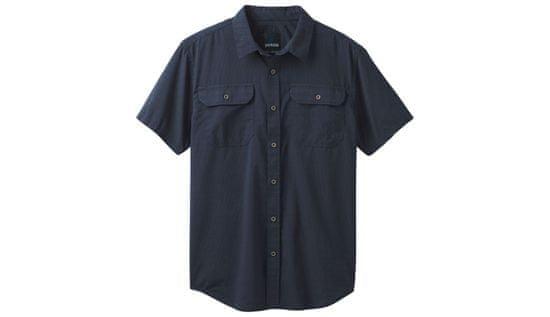 Prana Tričko Cayman SS farba modrá   veľkosť L
