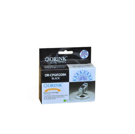 ORINK Canon PGI-520 Black komaptibilný cartridge, 21ml; OR CCPGI520BK
