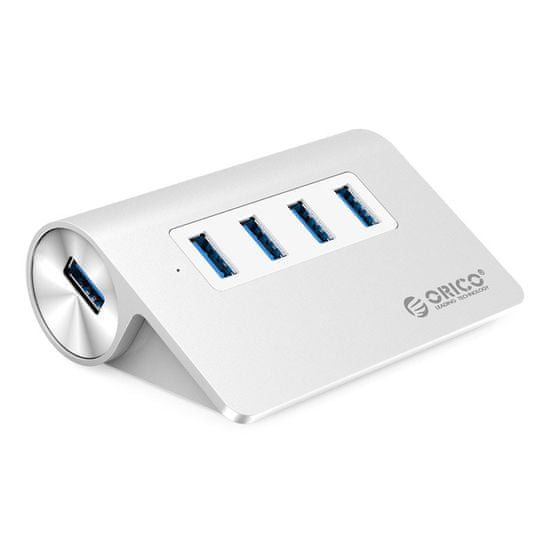 Orico USB3.0 4-portový Hub, hliníkové prevedenie; M3H4