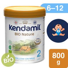 Kendamil BIO Nature pokračovacie mlieko 2 (6x 800 g) DHA+