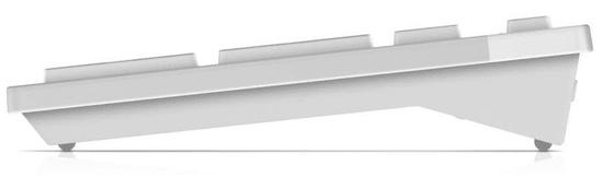 DELL KM636, UK, bílá (580-ADFP)