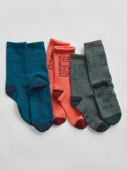 Gap Dětské vysoké ponožky, 3ks L