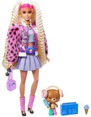 Mattel Barbie Extra plavuša u mini haljini