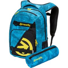 MEATFLY Batoh EXILE BACKPACK Mountains Blue