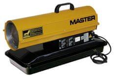 Master B70CED mobilní naftové topidlo s přímým spalováním 20 kW