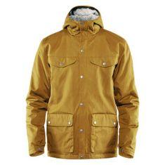 Fjällräven Greenland Winter Jacket M, musztardowy, xl