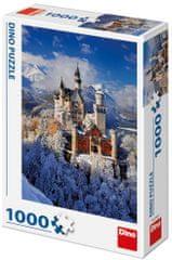 DINO Zima Neuschwanstein puzzle 1000 elementów