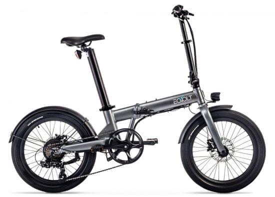 """Eovolt Confort sklopivi električni bicikl, 20"""", siva"""