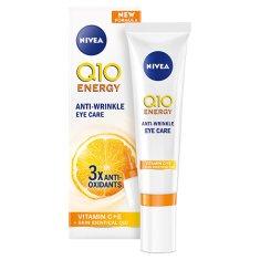 Nivea Energizující oční péče proti vráskám Q10 (Fresh Look Eye Care) 15 ml