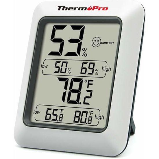 ThermoPro Digitální teploměr s měřením vlhkosti TP-50 - rozbalené