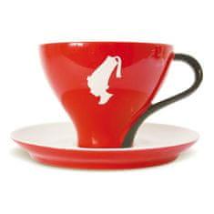 Julius Meinl Porcelánový šálek Julius Meinl cappuccino RED