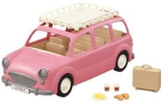 Sylvanian Families Rodinné auto růžové Van