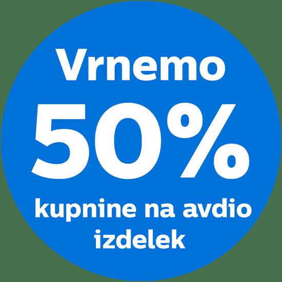 Philips 4K UHD 50PUS8505 LED televizor, Ambilight, Android + AKCIJA: 50% vračilo kupnine