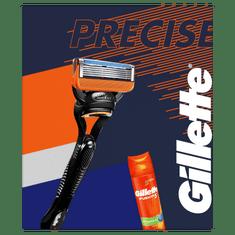 Gillette Ajándékkészlet: Fusion5 borotva + borotvagél