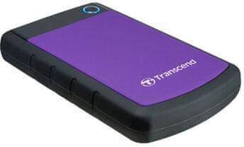 Transcend StoreJet 25H3P - 4TB (TS4TSJ25H3P), fialová