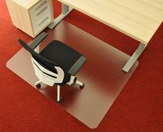 SMARTMATT-H Podložka pod kolečkovou židli na koberce 90x120