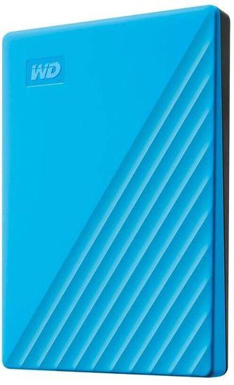Western Digital WD My Passport - 4TB (WDBPKJ0040BBL-WESN), modrá