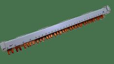 Bonega Lišta propojovací kombinovaná pro chrániče s jističem 08-4P4V28H10 Bonega