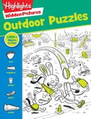 Highlights Hidden Pictures Favorite Outdoor Puzzles