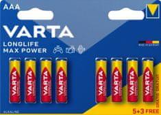 VARTA Batérie Longlife Max Power 5+3 AAA 4703101428