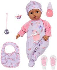 Baby Annabell Leah temna deklica, 43 cm