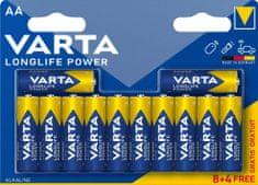 Varta Baterie Longlife Power 8+4 AA 4906121472