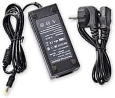 RX Corp PS-DT/12V/5A + Splitter 1/8 + Nap. kabel 230VAC/10A - síťový zdroj pro CCTV i jiné využití + šňůra