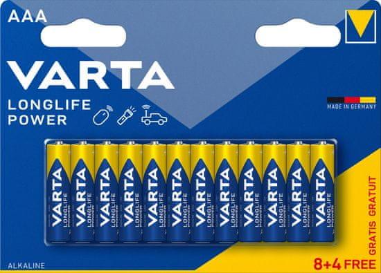 Varta Baterie Longlife Power 8+4 AAA 4903121472