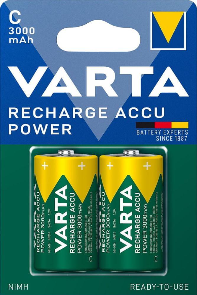 Varta Nabíjecí baterie Power 2 C 3000 mAh R2U 56714101402