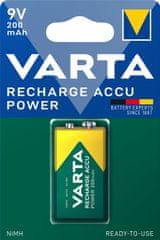 Varta Nabíjecí baterie Power 1 9V 200 mAh R2U 56722101401
