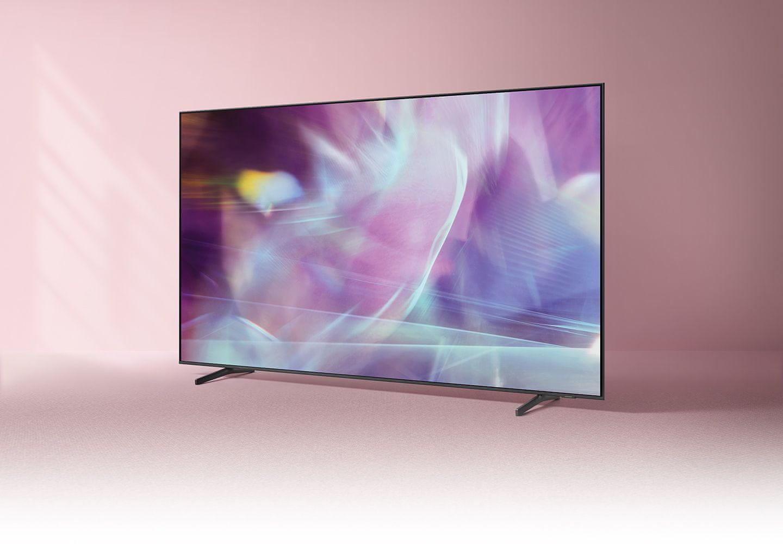 samsung tv televize qled 4K 2021 100% objem barev