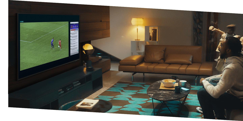 samsung tv televize qled 2021 4K smart multi view