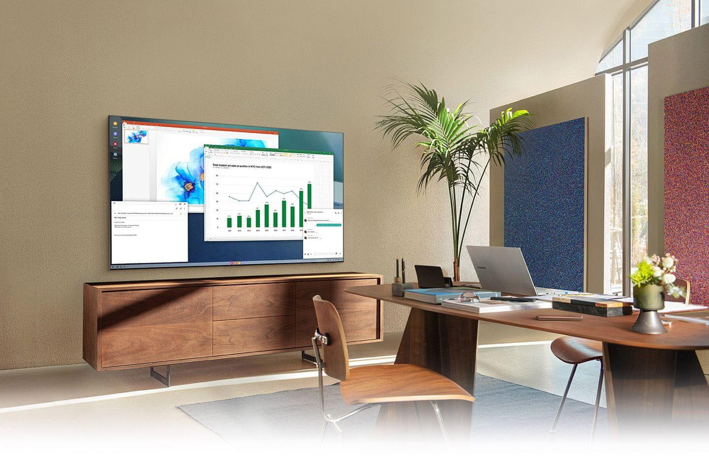 samsung tv televize qled 2021 4K bezdrátové připojení vysoké rozlišení