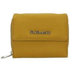 FLORA & CO Női pénztárca K6011 Moutarde