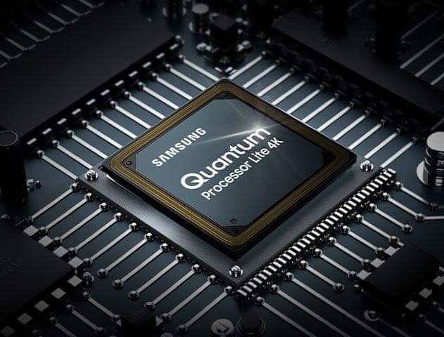 samsung tv televize qled 4K 2021 Quantum processor lite 4K upscaling