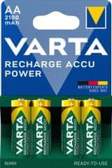 Varta Nabíjecí baterie Power 4 AA 2100 mAh R2U 56706101404
