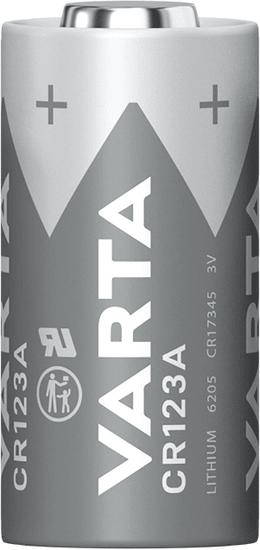 Varta Photo Lithium CR123A (CR 17345) 6205301401