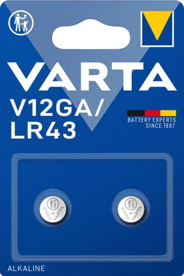 Varta V12GA 2pack 4278101402 alkalna baterija, 2 komada