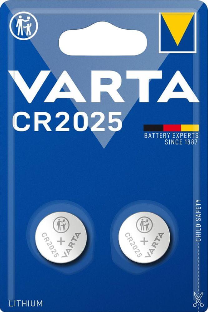 Varta CR 2025 2pack 6025101402