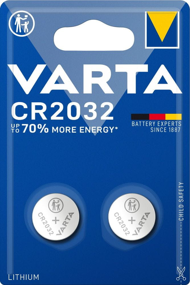 Varta CR 2032 2pack 6032101402
