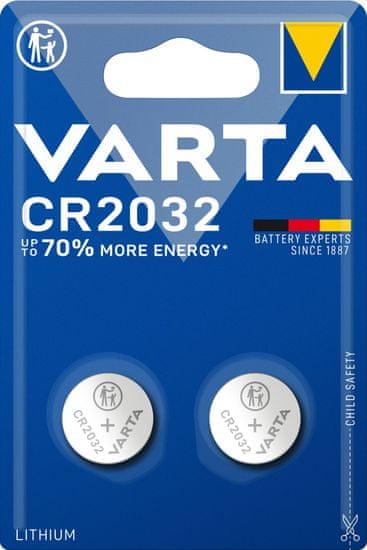Varta CR 2032 2pack 6032101402 litijeva baterija, 2 komada