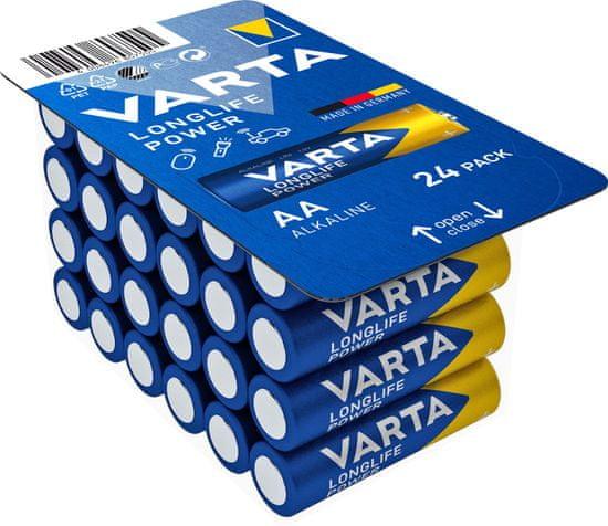Varta 4906301124 Longlife Power 24 AA (Big Box) baterije, 24