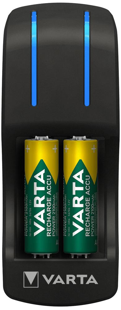 Varta Pocket Charger + 4 AA 2100 mAh R2U + 2 AAA 800 mAh R2U 57642301431
