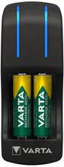 Varta 57642301431 Pocket Charger punjač za baterije + 4 AA 2100 mAh R2U + 2 AAA 800 mAh baterije